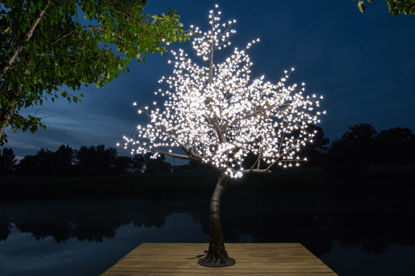 Led Cherry Blossom Trees And Led Maple Trees Simply Lit